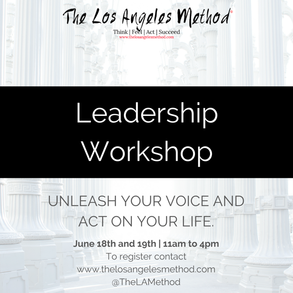 Become an Actor. Take ACTION. Enough coaching... more Acting! Cost: 180 euros (excl VAT)      Contact us at  thelosangelesmethod@gmail.com  to reserve your spot.