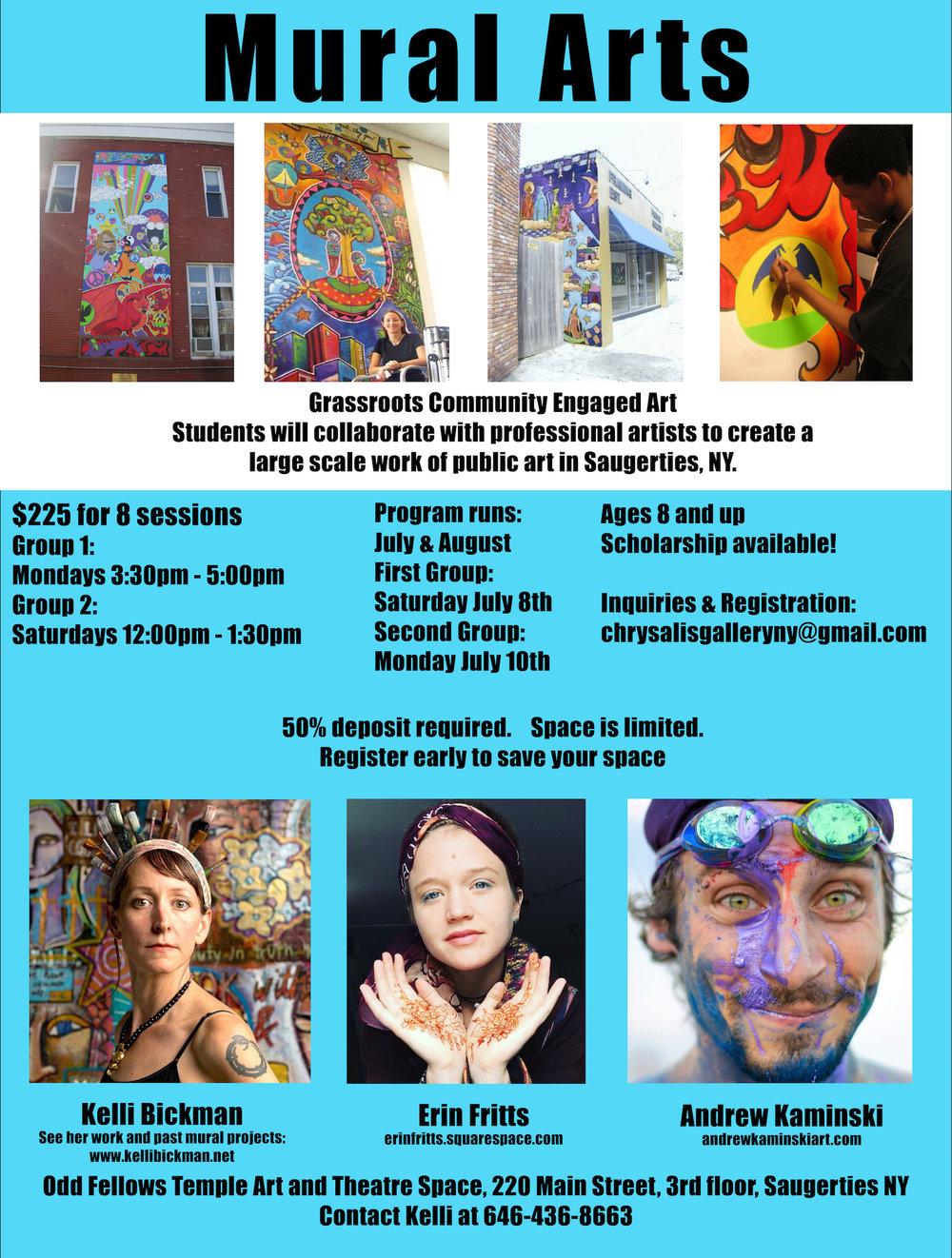 Youth Mural Arts, Saugerties, NY