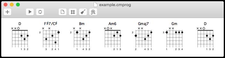 ChordMate for OS X — Harmonic Sense
