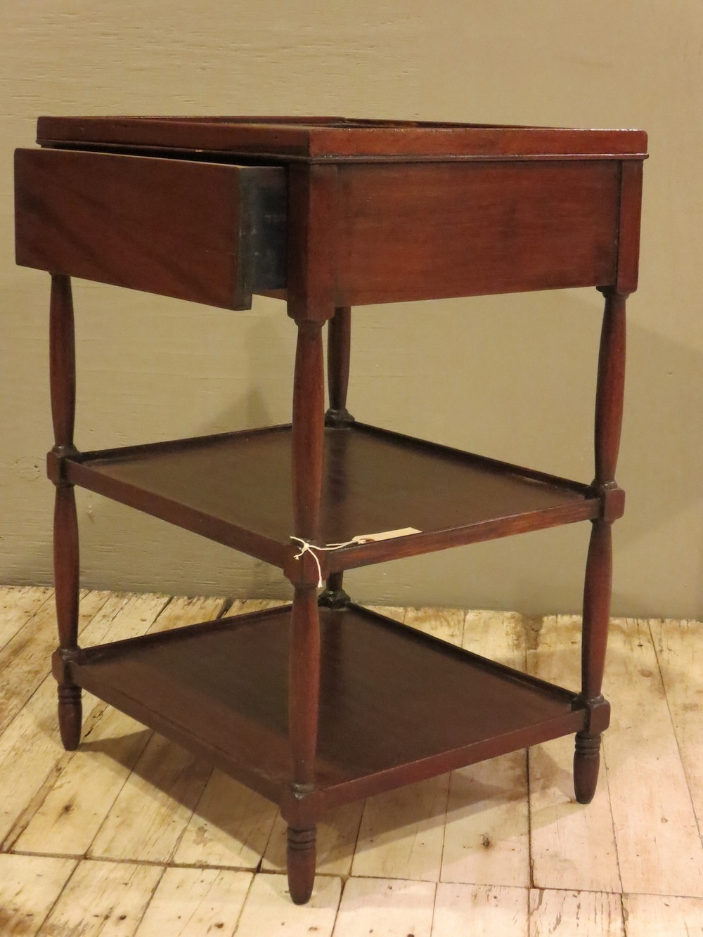 Small Table with 2 Tier and 1 Drawer