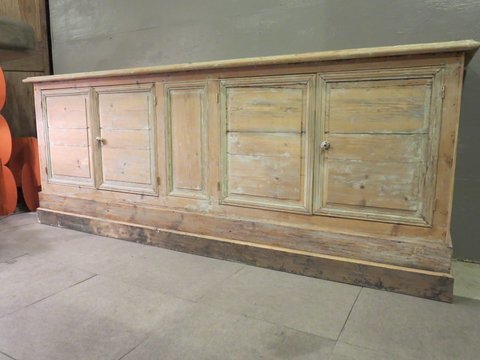 4 Door Pine Buffet