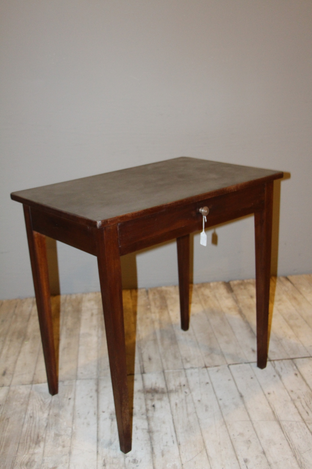 Directoire Table with Silver Top Finish