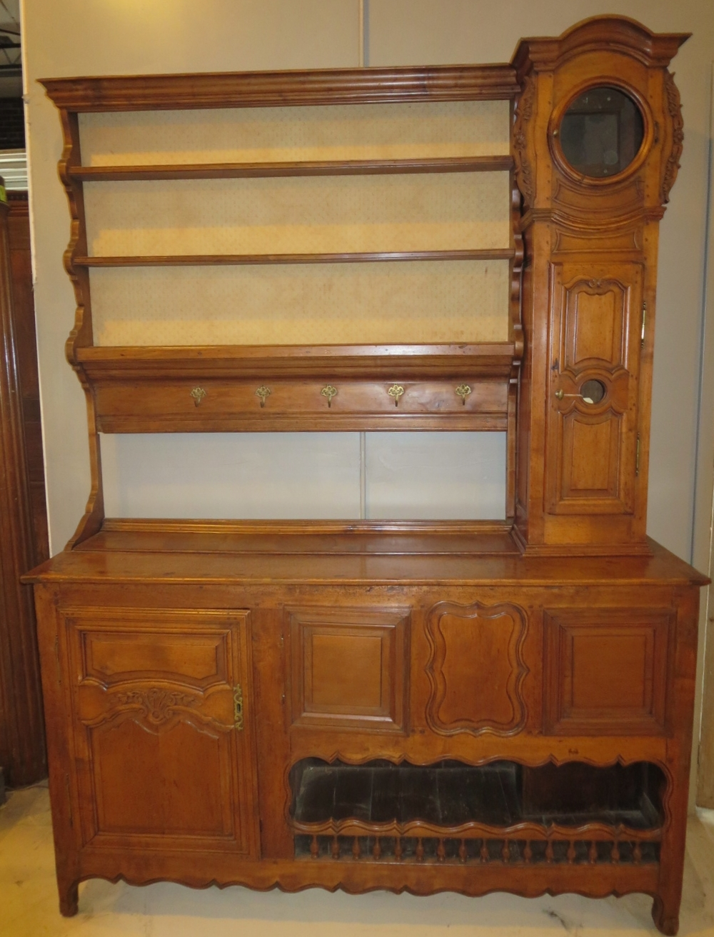 Walnut Buffet With Top