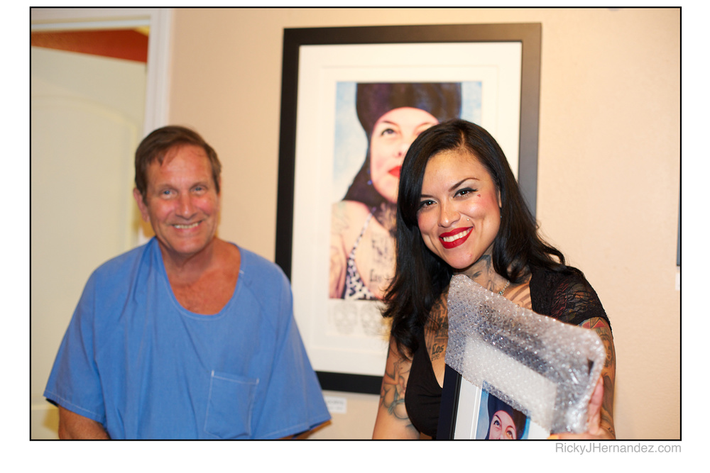 Photos of Gregg Stone Solo Show at Laguna Art walk in Laguna Ink