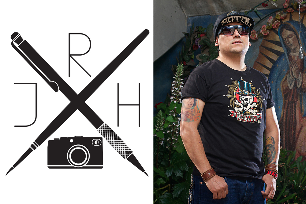 Rebel hernandez tattoo artist photo shoot
