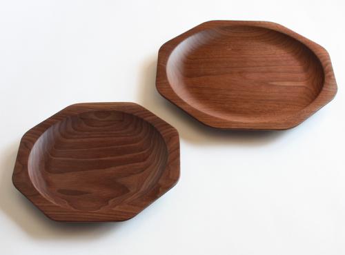 Takahashi Kougei  / Oji Masanori / piatti Kakudo in legno / artigianato e design giapponese  / Spazio Materiae Napoli
