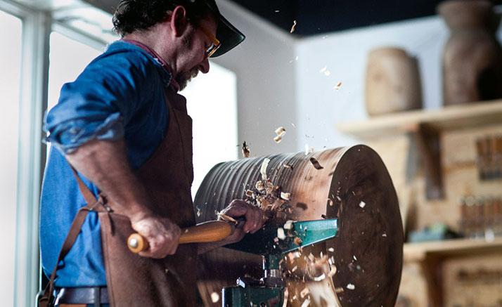 Legno lavorato a mano a Kingston NY  | Blackcreek Mercantile | Joshua Vogel |  Spazio Materiae |  Napoli