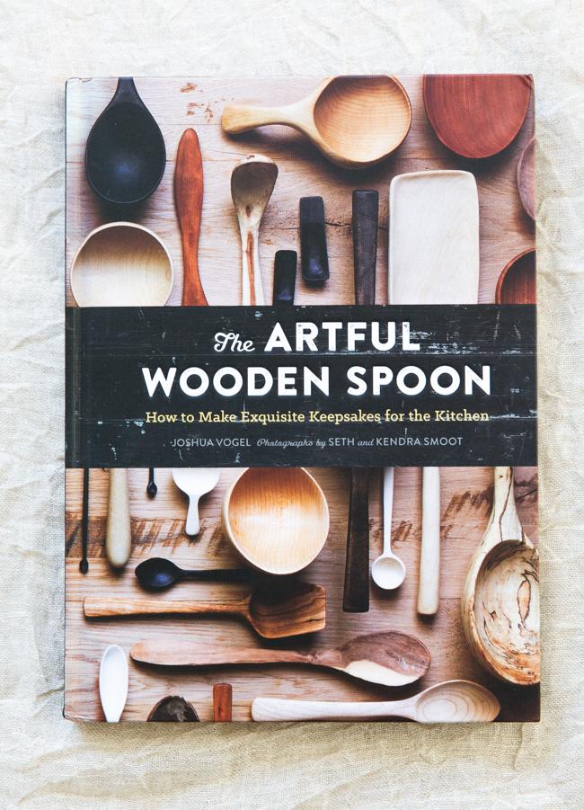 The Artful Wooden Spoon | libro sul cucchiaio in legno lavorato a mano  | Blackcreek Mercantile | Joshua Vogel |  Spazio Materiae |  Napoli