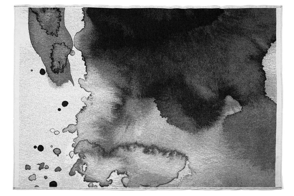 HAZY BLANKET COPERTA WATERCOLOR ACQUERELLO BLACKANDWHITE SCHNEID SCANDINAVIAN DESIGN SCANDINAVO SPAZIO MATERIAE NAPOLI.jpg