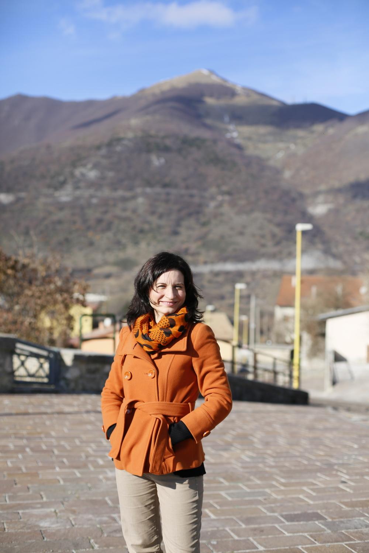In Castel di Sangro (Abruzzo) my hometown in Italy