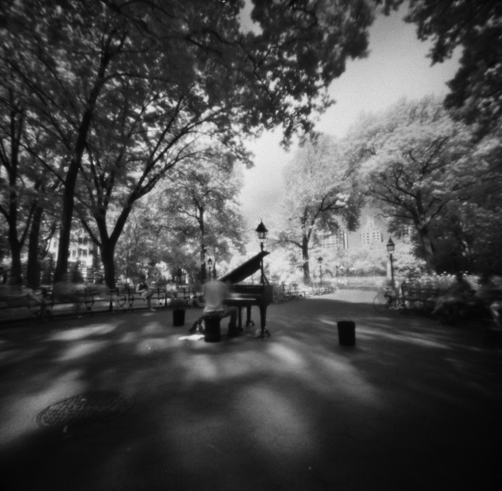 Washington Square Park Piano #1