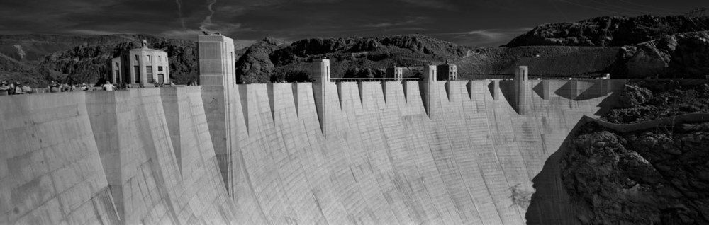 Face of the Hoover Dam (Panoramic)