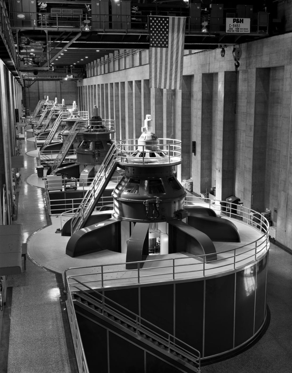 Nevada Generator Room- Hoover Dam