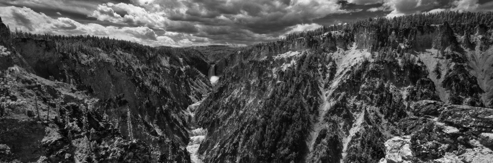 Lower Falls, Yellowstone- Panoramic