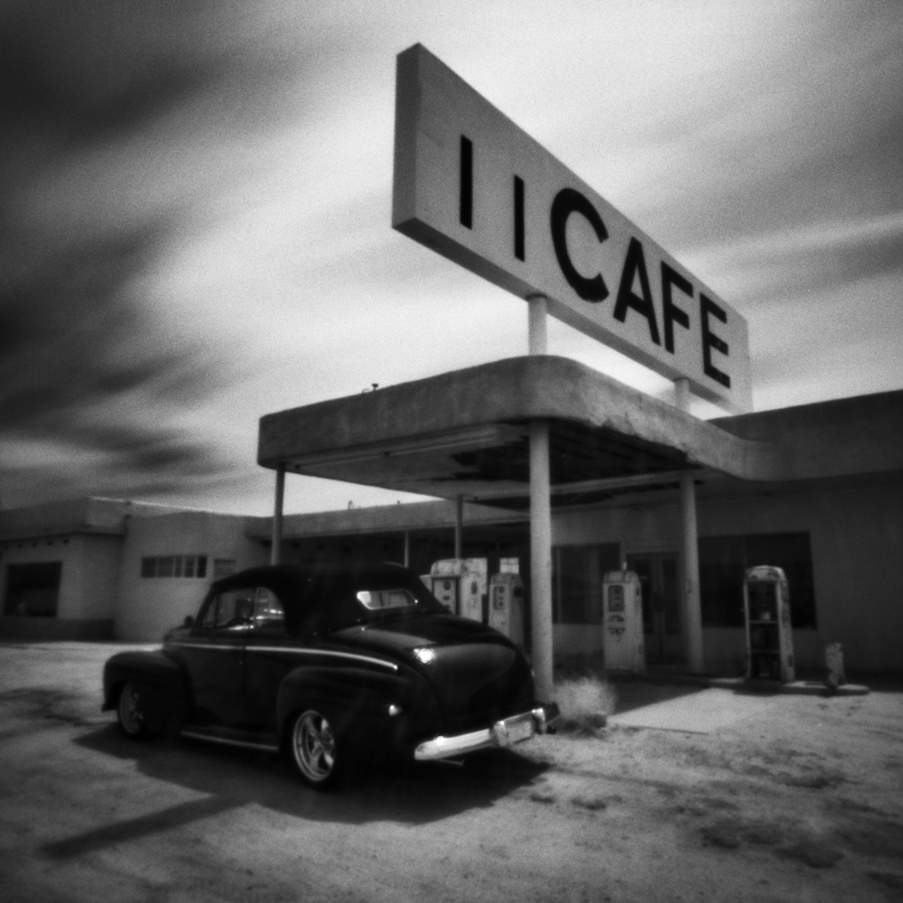 Desert Center Car- Pinhole