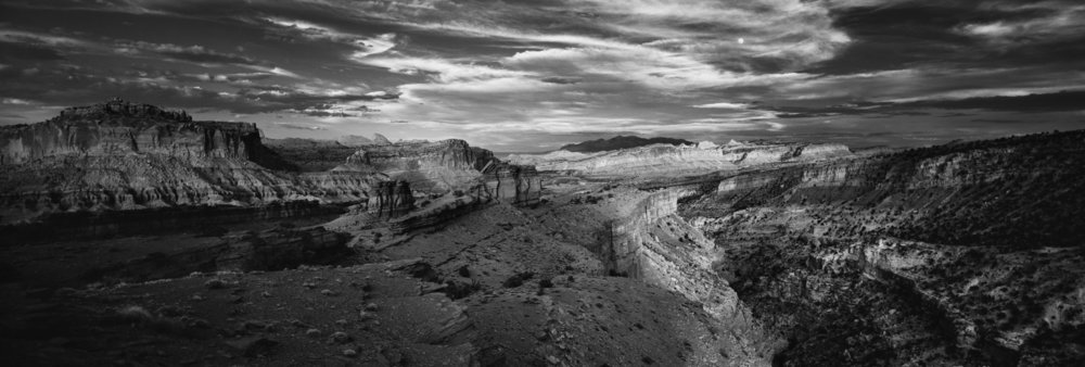 Capitol Reef National Park- Panoramic Point, Utah