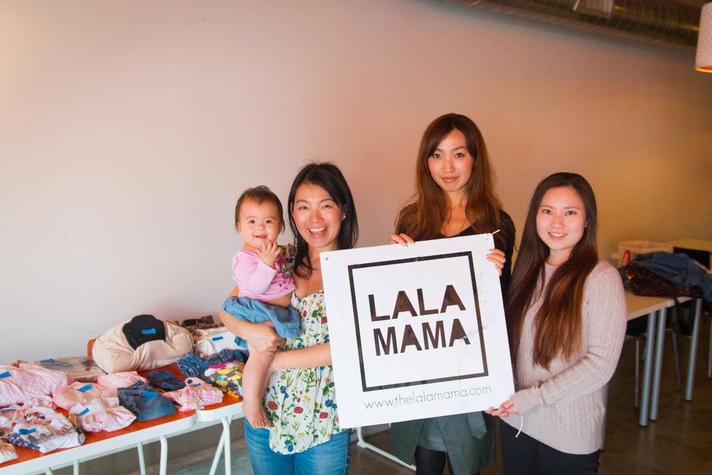 昨年12月にグレンデールで行われたナップアート&フリーマーケットイベントの様子。次回のイベントの際はまた LALAMAMA Facebook Page  でお知らせします。