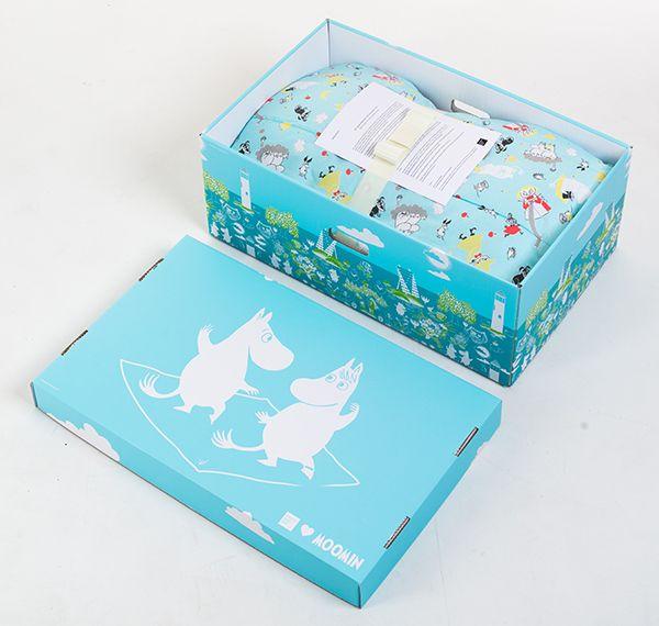 フィンランドだけにフィンランド生まれのムーミンのBaby Boxも。