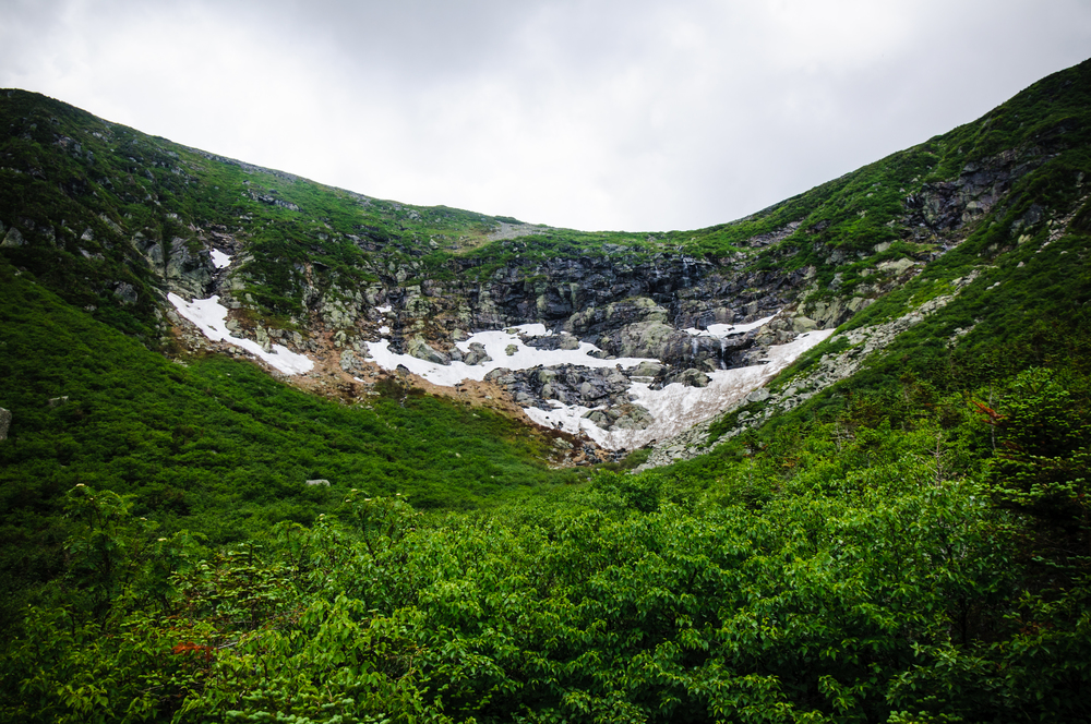 A final look back at Tuckerman's Ravine. Until we meet again my friend. (Click to enlarge image)