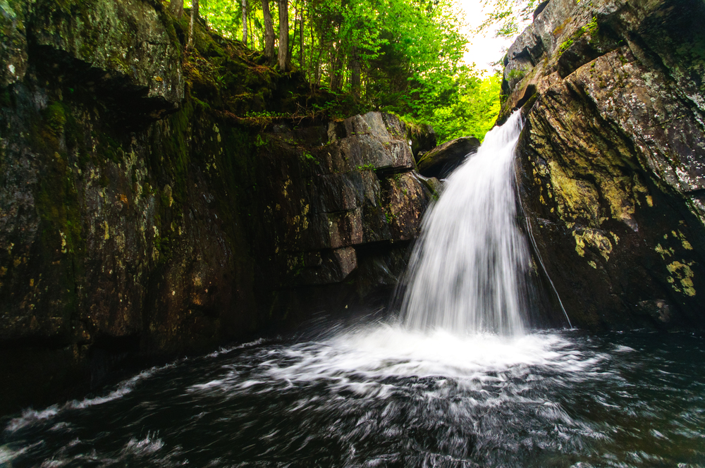 Screw Auger Falls, Gulf Hagas, Maine, USA. June 2015