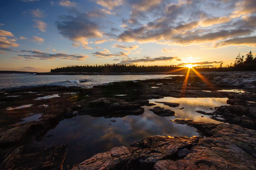 Acadia National Park, Maine, USA April 2015