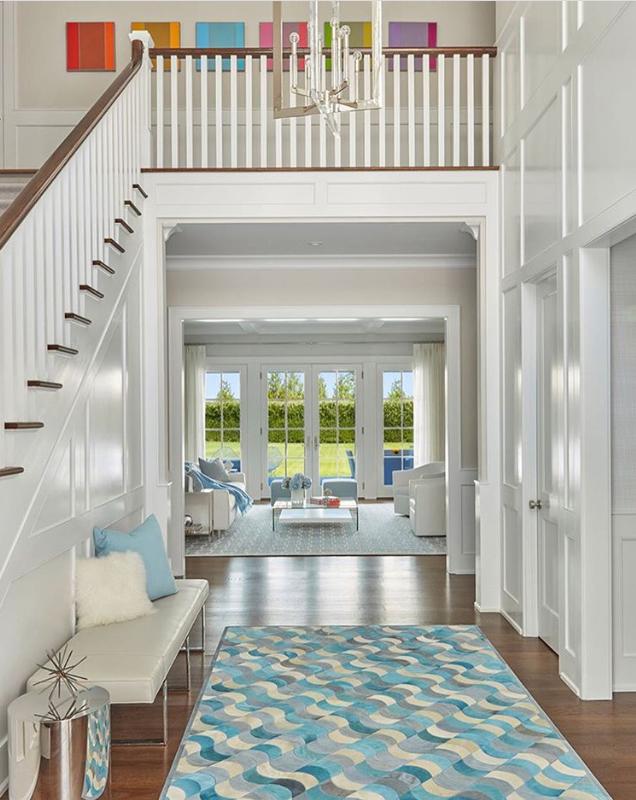 Hamptons NY Interior Design   Living Room By Melanie Roy Design   Beach Home