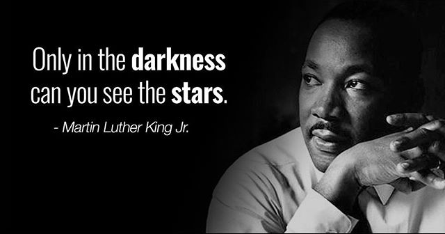 ‪#MLKDay #MartinLutherKing #quotes #MondayMotivation ‬#inspirationalquotes #stars