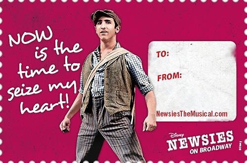Happy Valentines Day! #valentinesday #valentines #broadway #newsies #loveislove