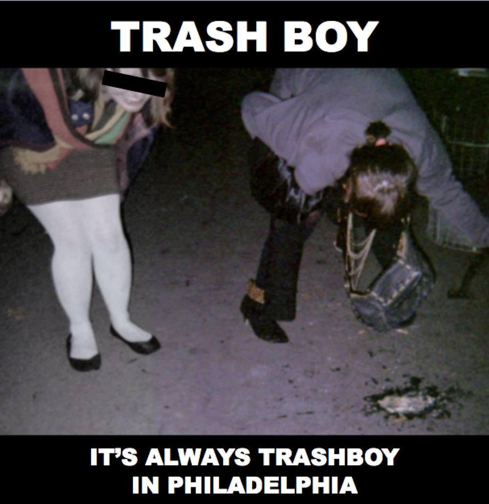 LP03 Trash Boy Album Art