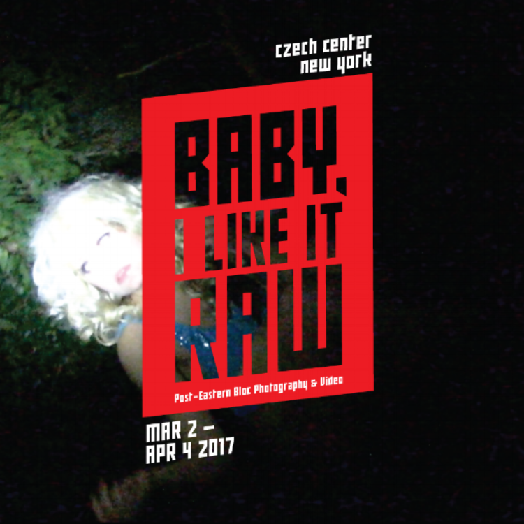 "My short The Ukrainian today at the opening of ""Baby, I Like It Raw"" curated by    Marie Tomanová    & Thomas Beachdel. @ Czech Center New York 7pm."