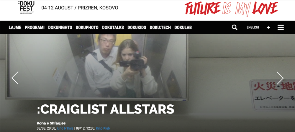 Craigslist Allstars at Doku Fest Kosovo 8th & 12th of August