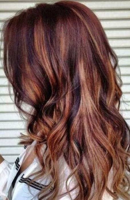 brown hair color ideas with highlightsjpg - Hair Color Highlights Styles