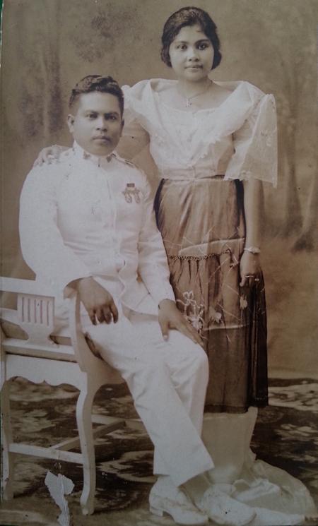 The author's grandparents, Cornelioand Josefina.