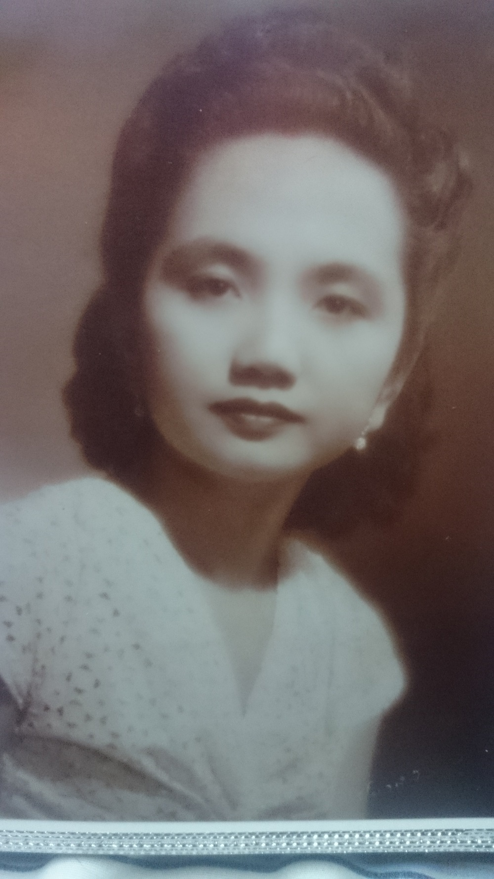 Lola Coring, around the time the war broke out in the Philippines.