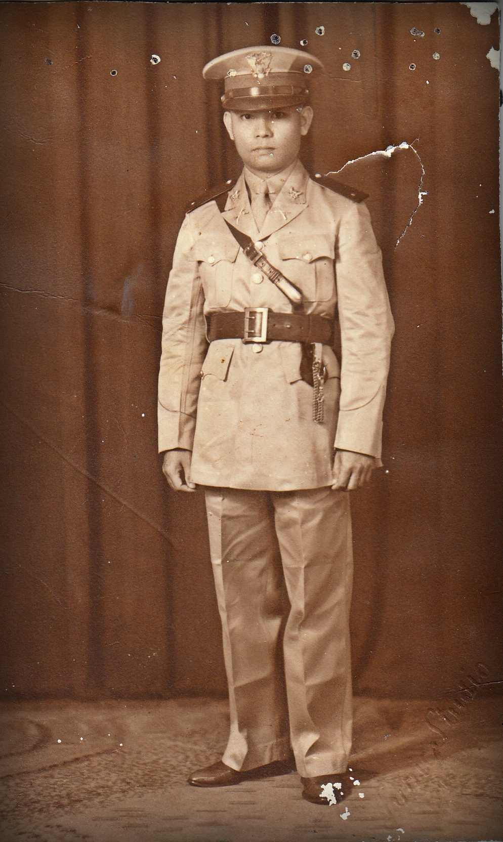 Tonio on active duty during the second world war.