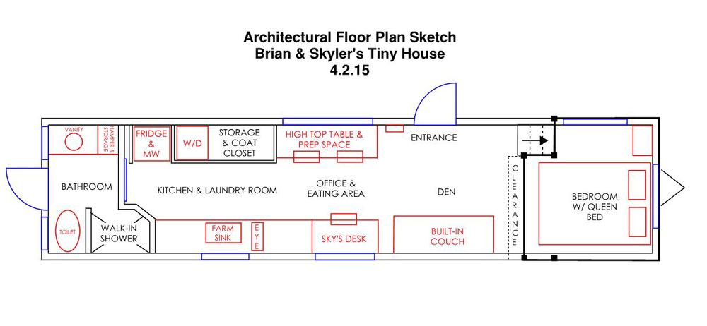 Brian & Skyler Thomas Wandering On Wheels Arch Floor Plan