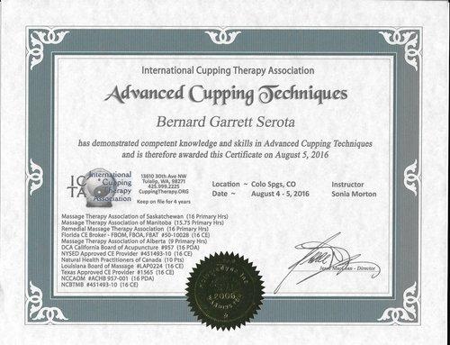 Education/Credientials — Serota Massage Therapy