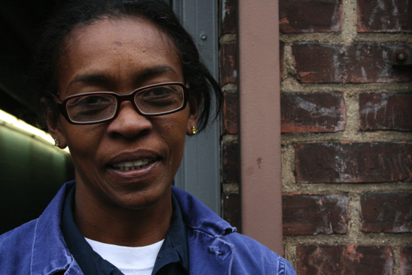 18 October 2011 Felicia Bernabeu, 51, lives in the Ravenswood housing development in Astoria, Queens. She works for the New York City Housing Authority and cleans apartments when people move out.