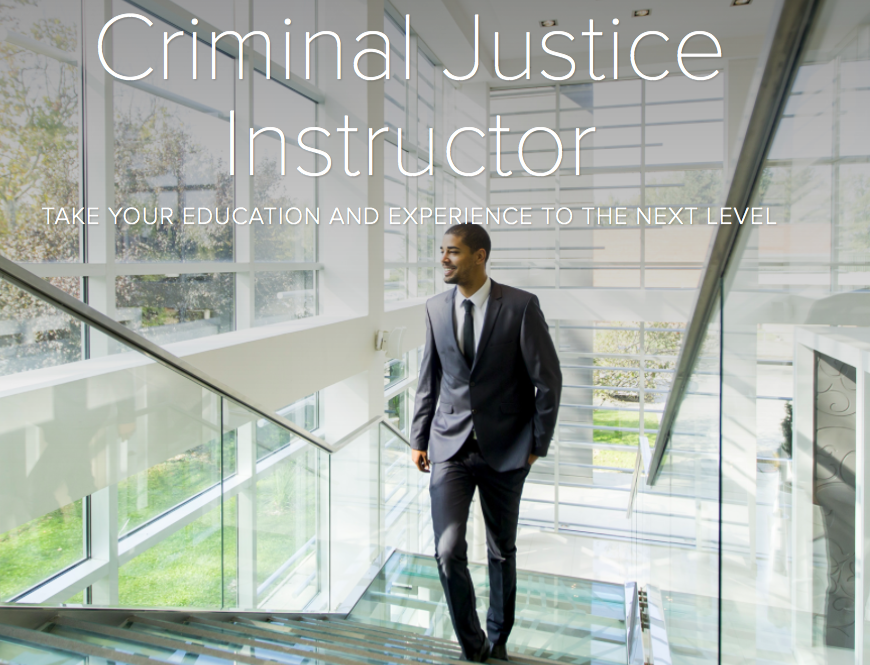 criminal justice instructor position portland community college