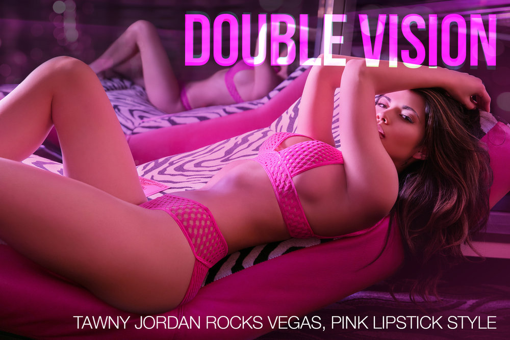 Tawny Jordan for Pink Lipstick Lingerie • Victor Sanabrais Photographer