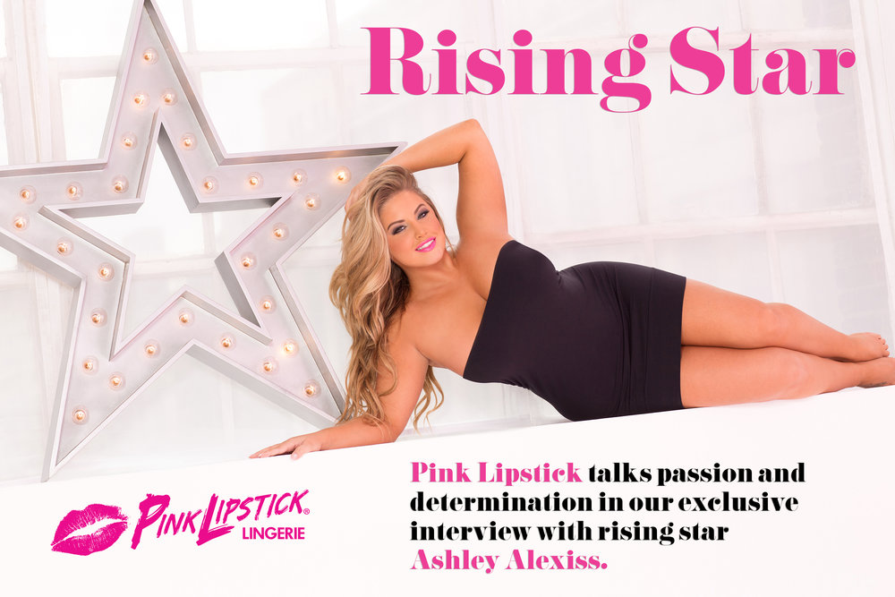 Ashley Alexiss for Pink Lipstick Lingerie • Photography by Victor Sanabrais