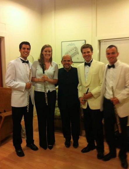 TMC Flutes with Jaap van Zweden