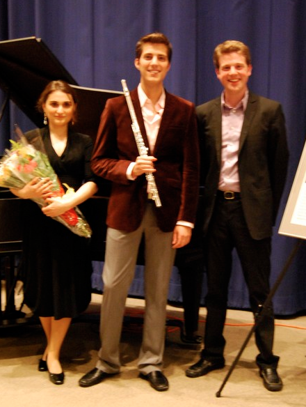 Pappoutsakis Winner's Recital, Boston Public Library