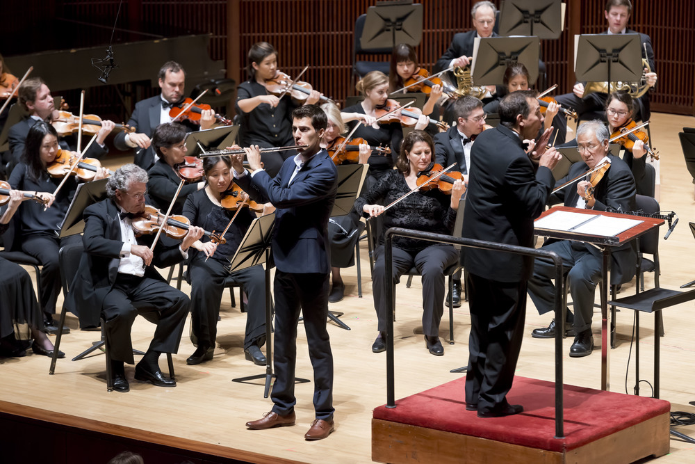 Nielsen Concerto, Houston Symphony (photo by Anthony Rathburn)