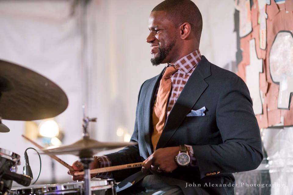 John Lumpkin Jr   Drummer/ Band Leader/ Composer/ Educator   Click image to visit website.