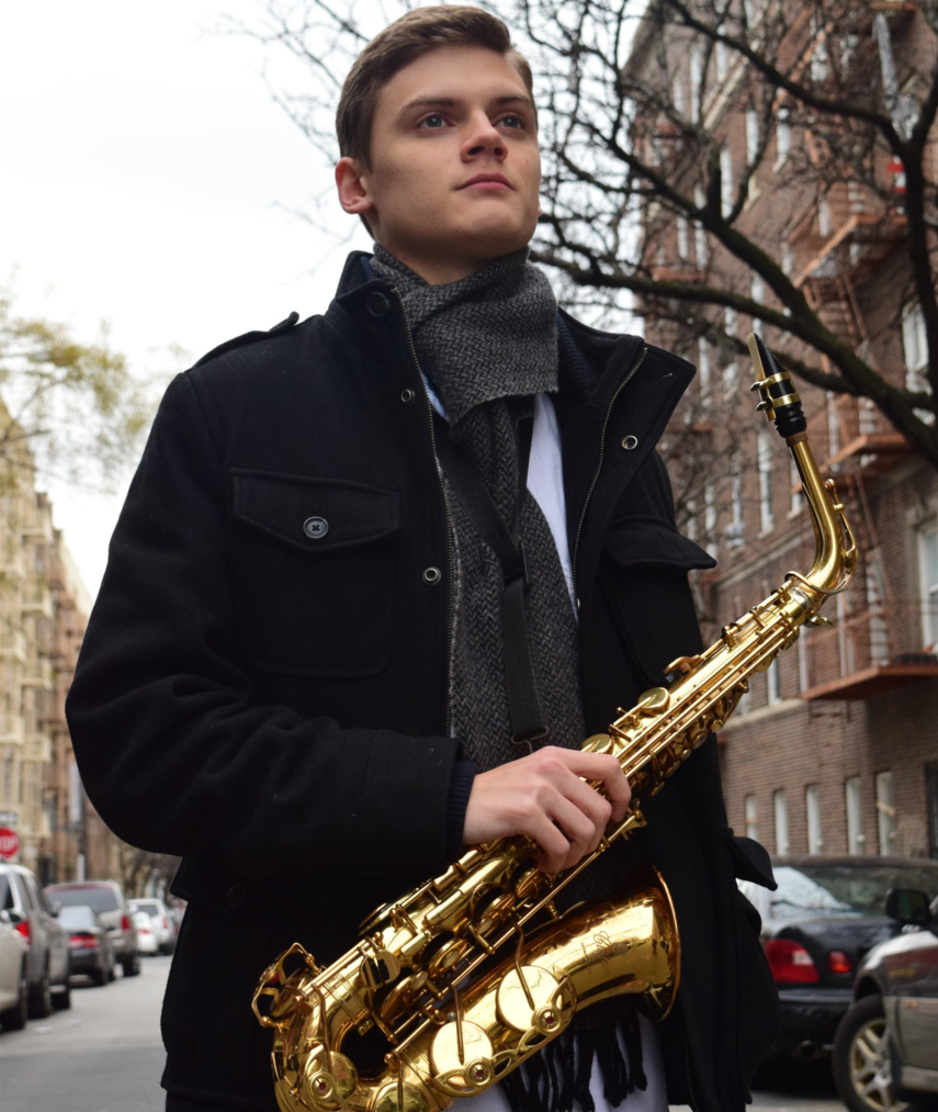 Daniel Dickinson Saxophonist/ Woodwind Specialist/ Composer/ Arranger/ Educator Click image to visit website.