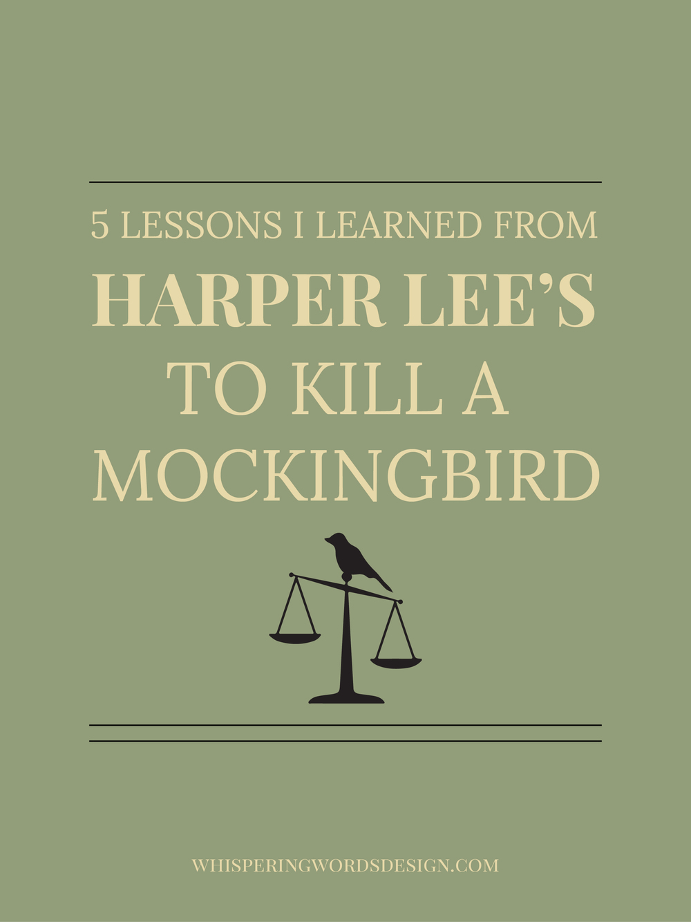 to kill a mockingbird lessons A summary of lessons learnt in the first two chapters of to kill a mockingbird.