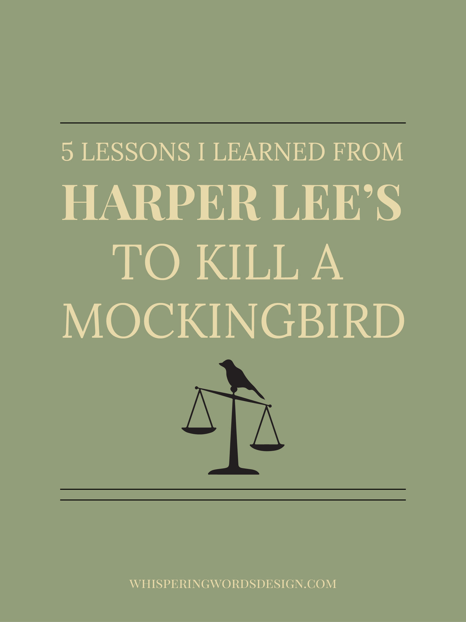 lessons taught in to kill a mockingbird