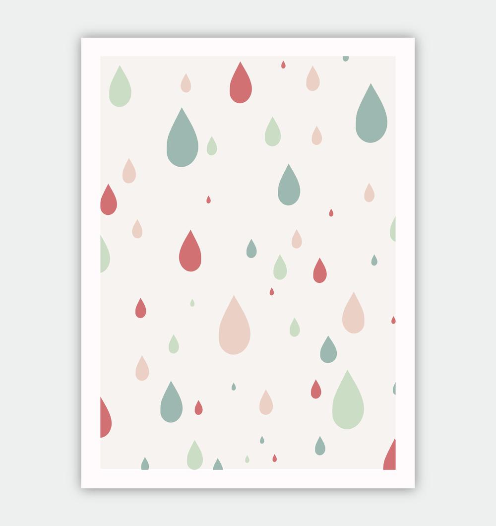 Rain Drop Pattern