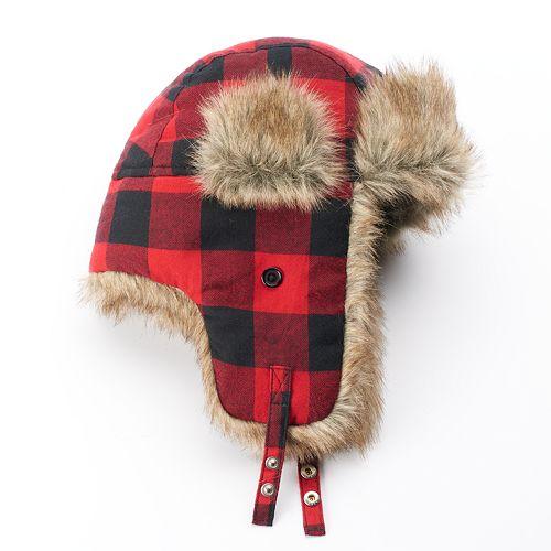 Urban Pipeline Checker Hat from  Kohls